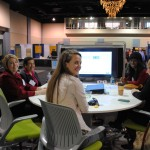 Virginia Women in Design hosted a lounge and exhibition in the ArchEx Exhibit Hall