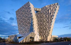 3XN's Bella Sky Hotel. Image courtesy of 3XN.