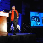 Bernard Tschumi wows the audience as the 2013 Keynote Speaker