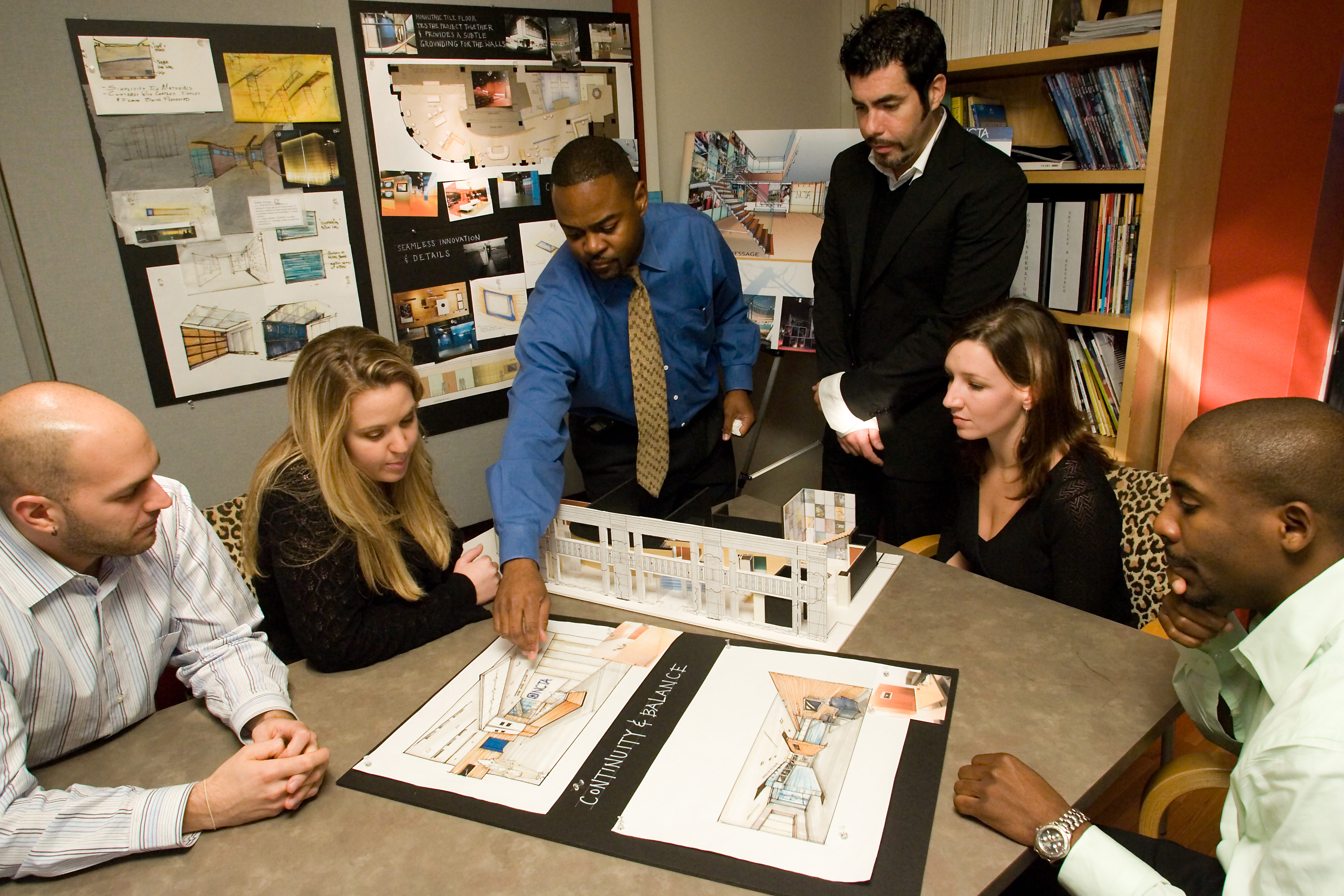 Final Presentations At Hampton University