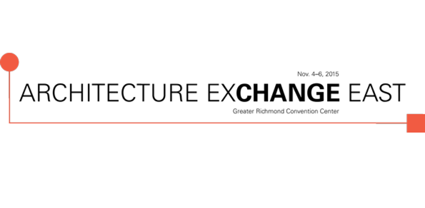 The wait is over. Registration is now open for Architecture Exchange East 2015, one of the largest and most exciting annual gatherings of architects and design professionals in the mid-Atlantic. Register today! Discount registration expires Oct. 20 and online registration closes Oct. 28.