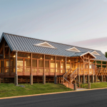 Seaside Hall, Virginia Institute of Marine Science (Wachapreague, Va.) by VIA Design Architects, P.C. photo by Dave Chance Photography.