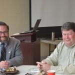 Bryan Clark Green, Ph. D., Hon. AIA Virginia and Brian Frickie, AIA