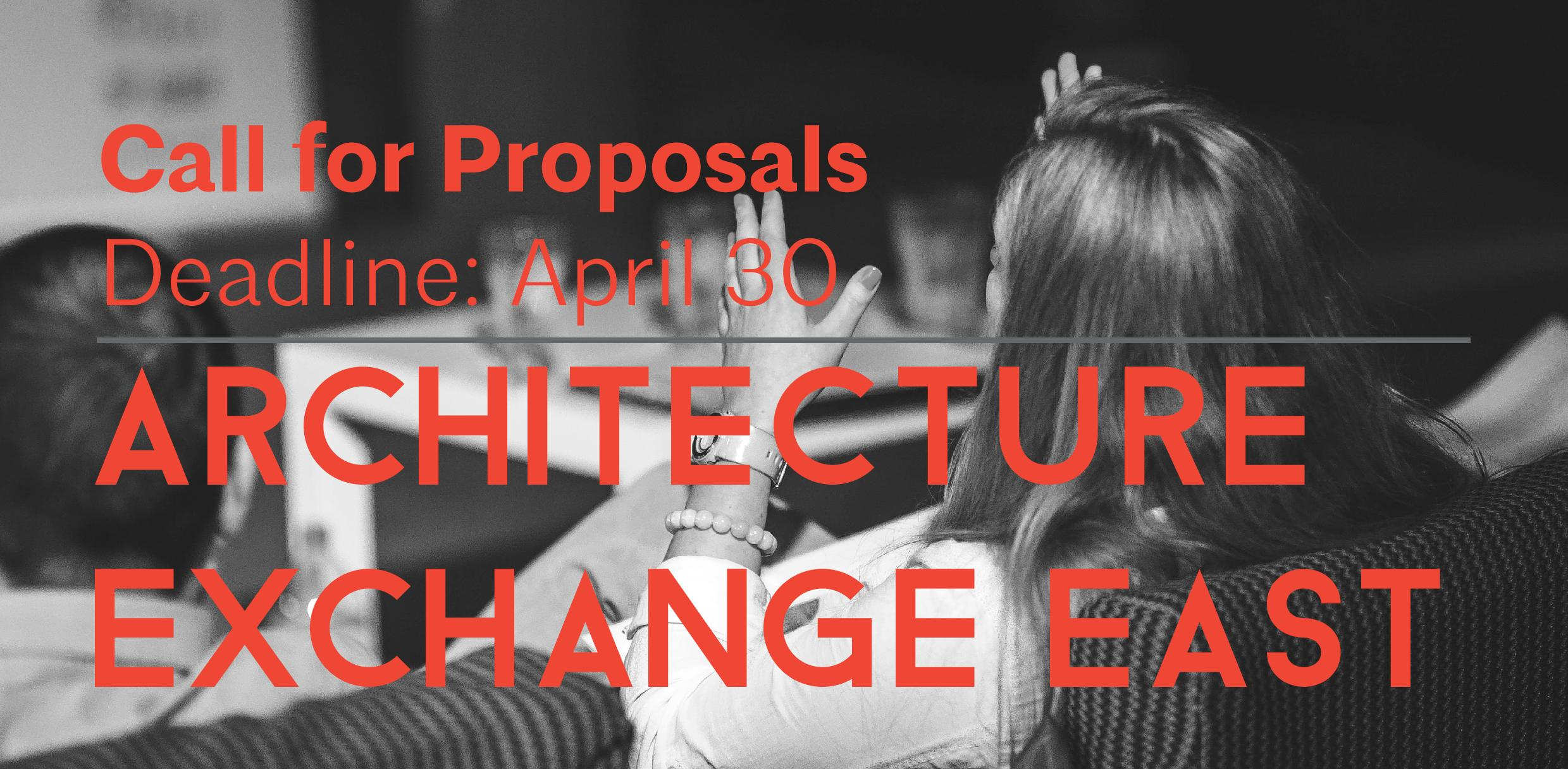 Deadline Extended for ArchEx Call for Proposals