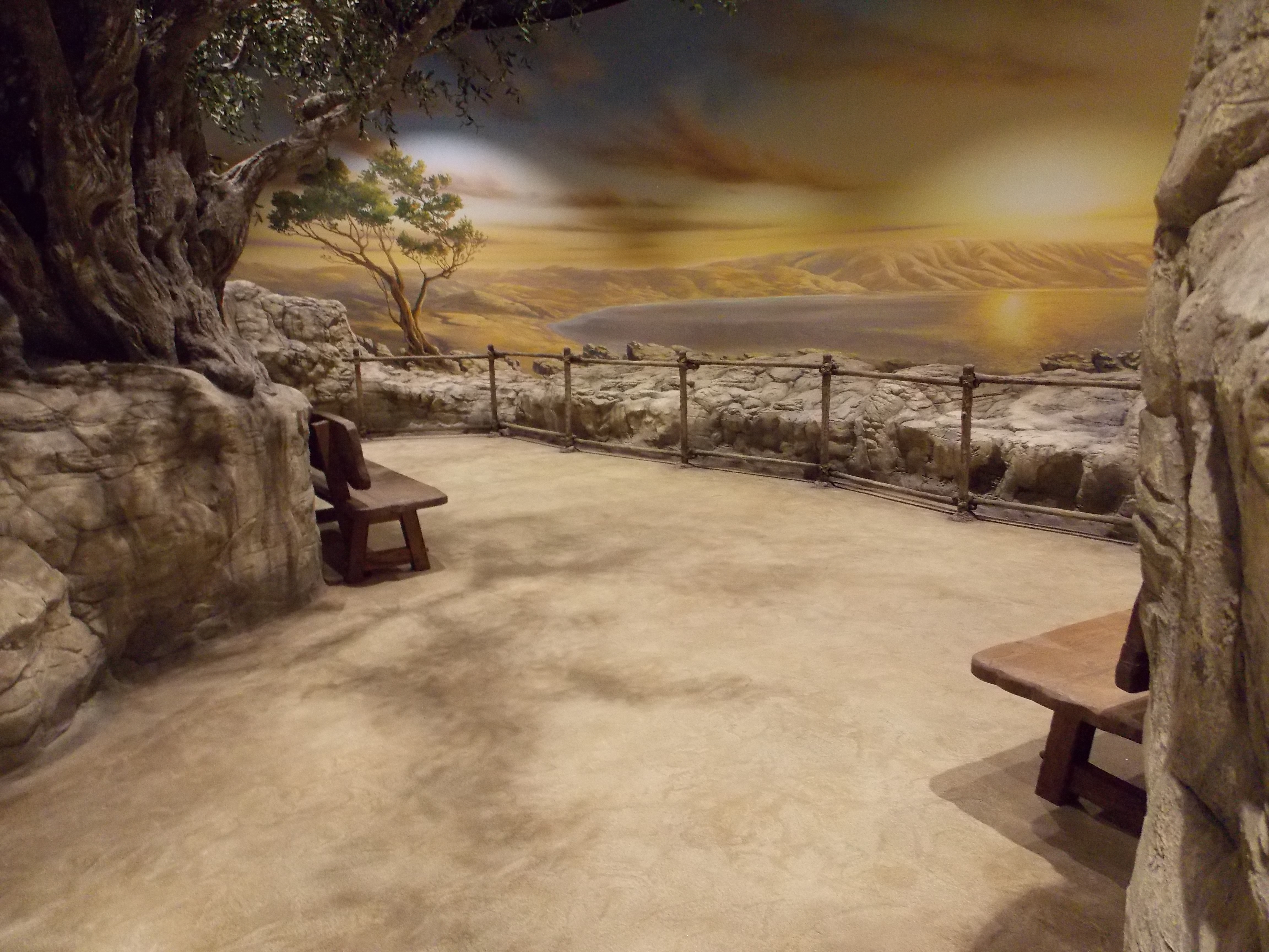 Bible Museum's Dirt Floors Made with SUNDEK Decorative Concrete