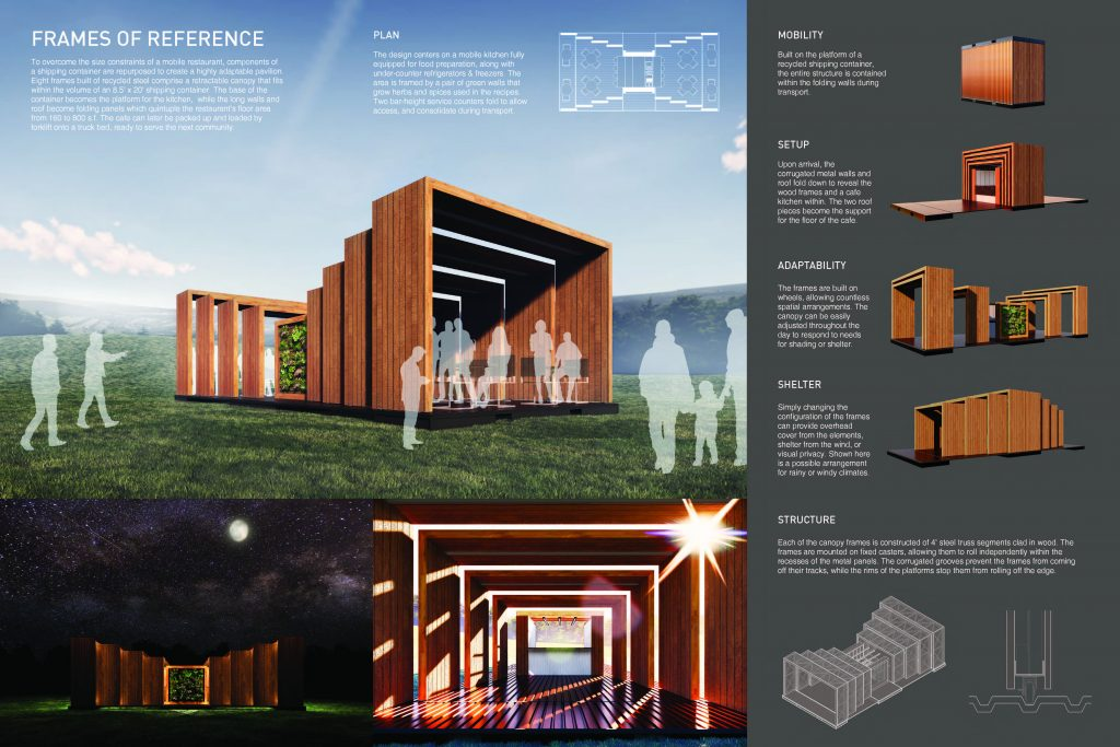 """Frames of Reference"" by Jackson Reed, Virginia Tech was awarded the AIA Virginia Prize."
