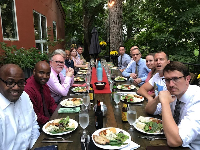 AIA Virginia Hosts First Community Dinner