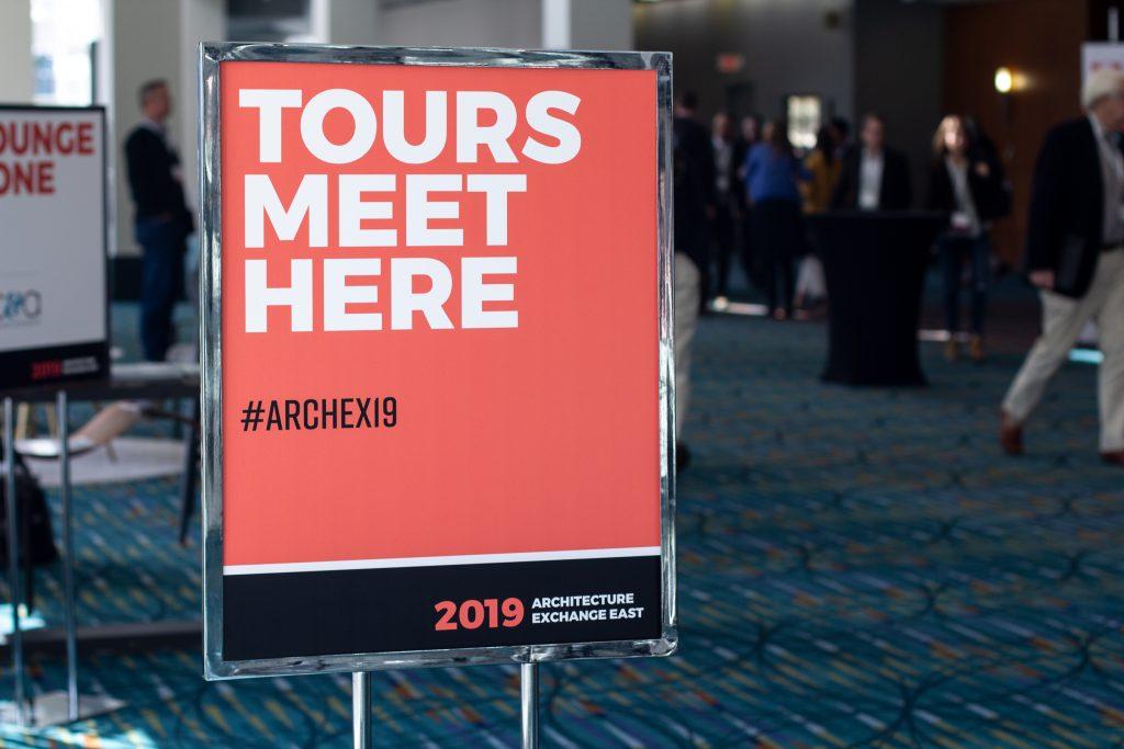 ArchEx 19 Tour Zone