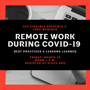 Remote Work Webinar Graphic