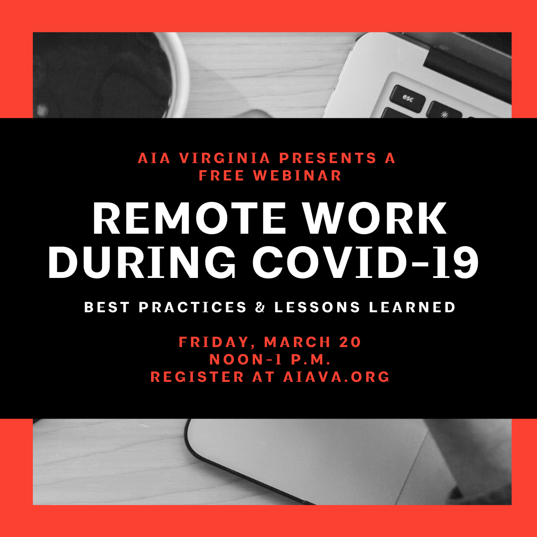 Remote Work During COVID-19: Webinar Recording and Notes