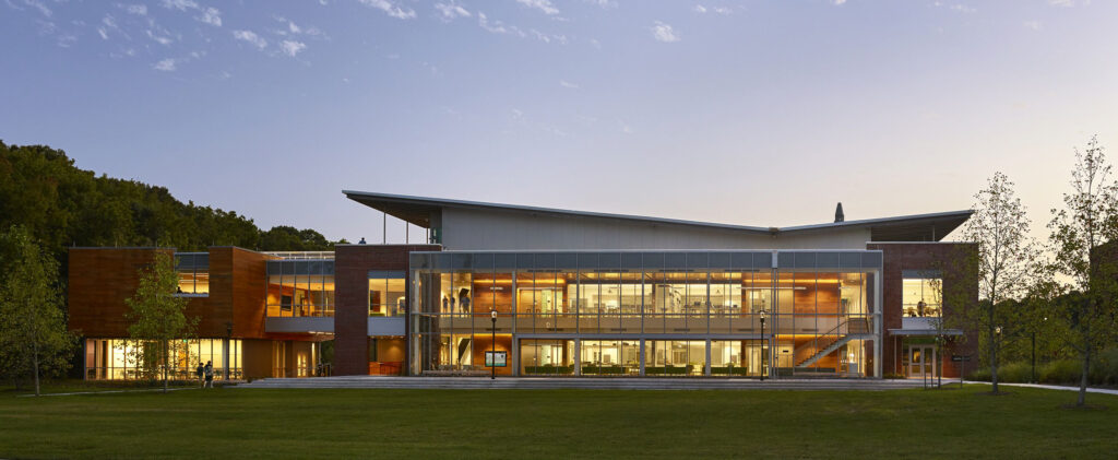 Greer Environmental Sciences Center by VMDO Architects. Photo by Alan Karchmer