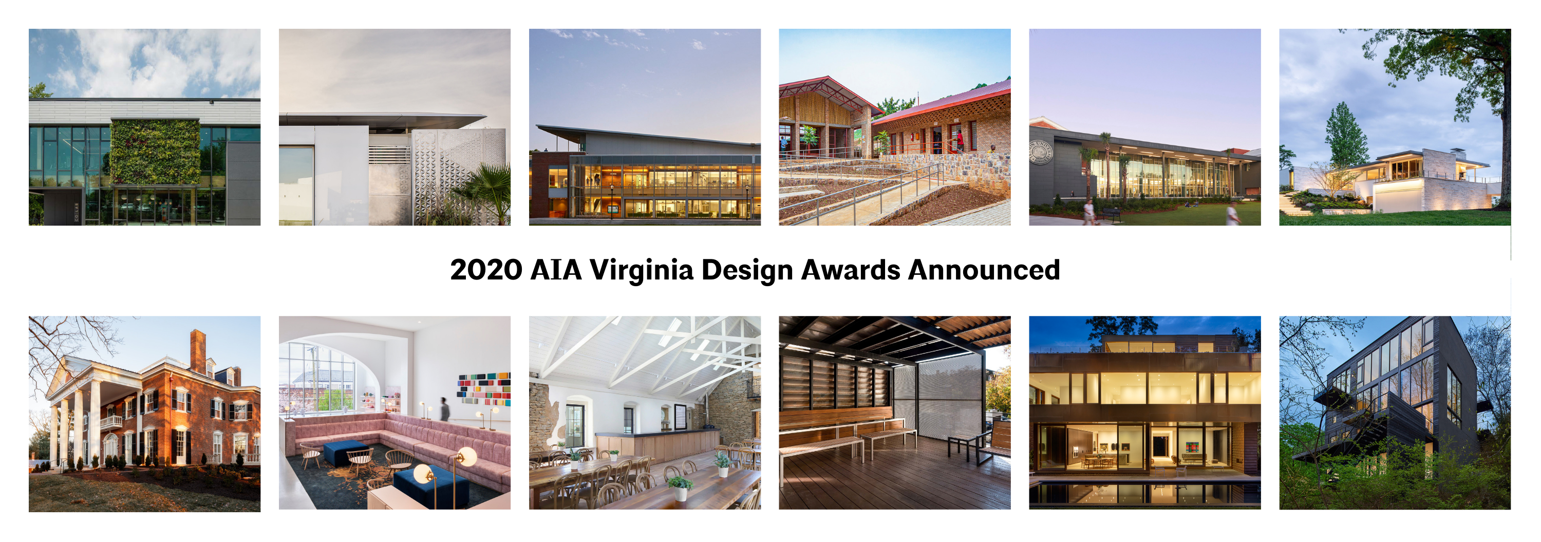 2020 Design Awards announced graphic