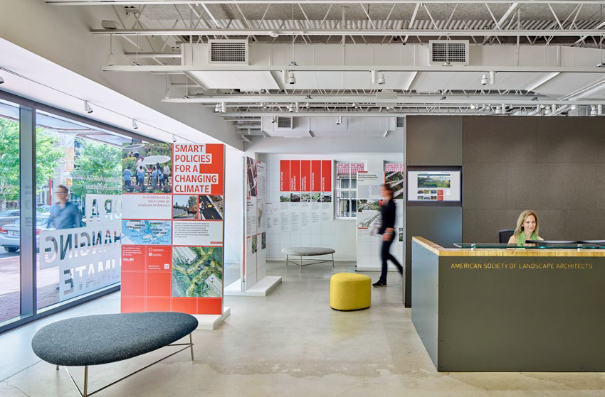 ASLA Center for Landscape Architecture by Gensler
