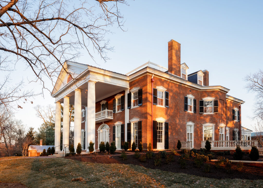 Carr's Hill Renovation by Glave & Holmes
