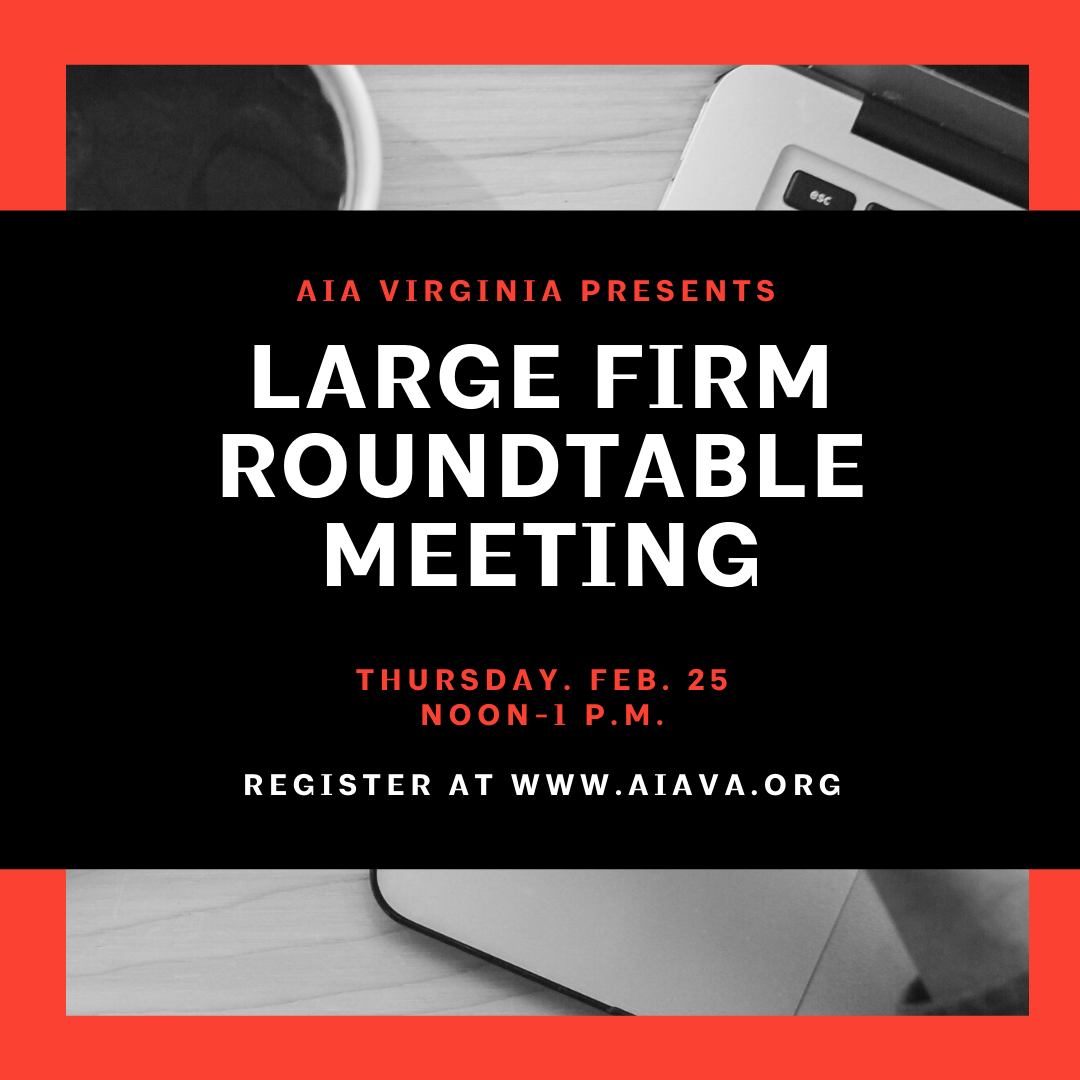 large firm roundtable graphic