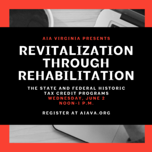 Rehabilitation Tax Credits Webinar graphic