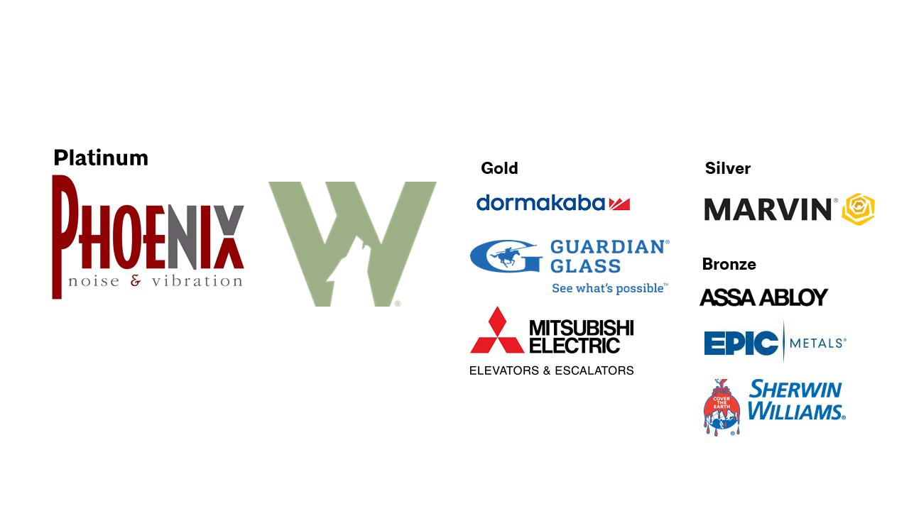 Architecture Exchange East Sponsors